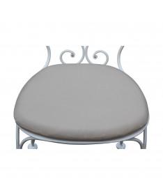 galette de chaise en tissu outdoor