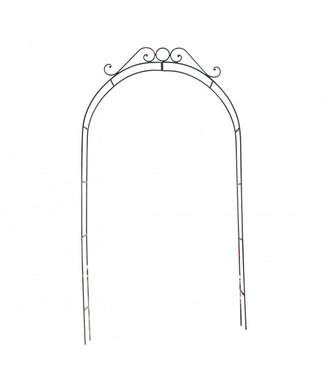 arche de jardin pour rose en fer forgé