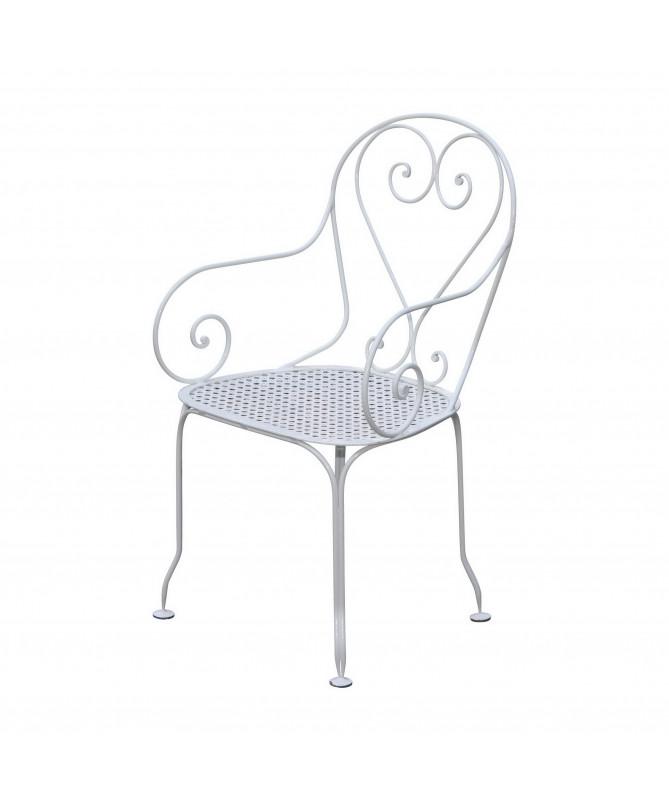 fauteuil en fer modèle français