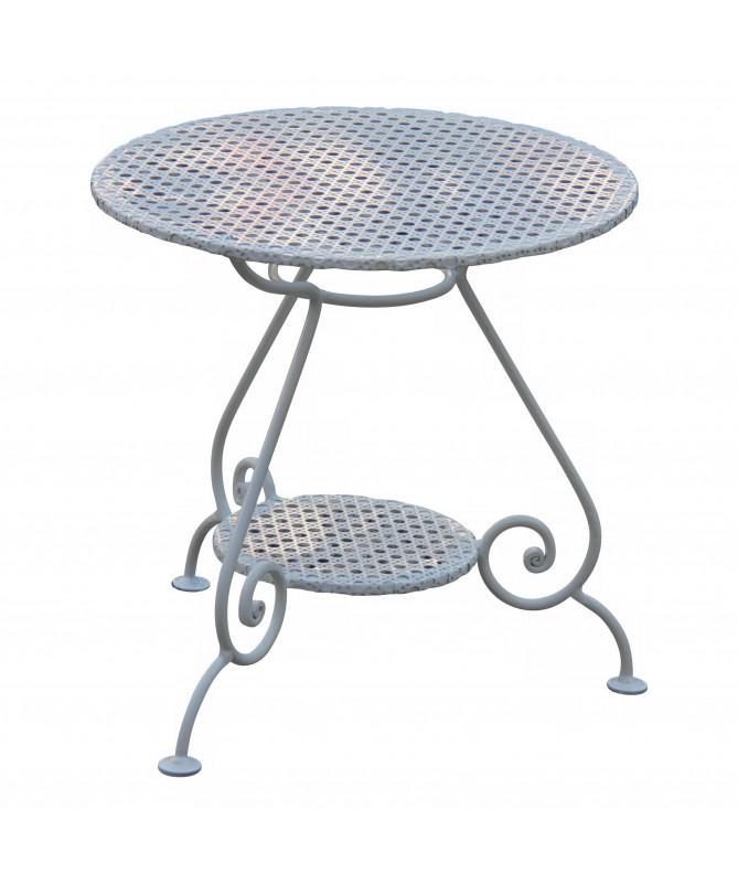 petite table basse ronde de jardin
