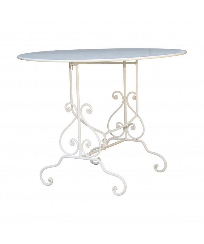 table pliante en fer pour extérieur